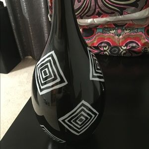 Other - Black and White Home Decor Vase